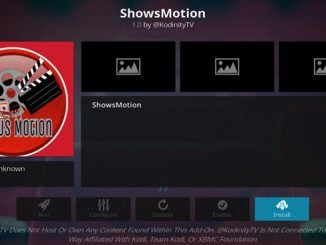 ShowsMotion Addon Guide - Kodi Reviews