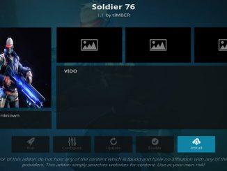 Soldier 76 Addon Guide - Kodi Reviews