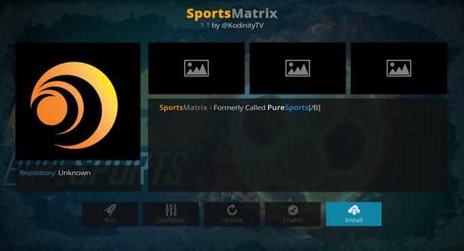 SportsMatrix Addon Guide - Husham com - Husham com