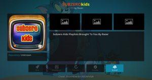 Subzero Kids Addon Guide - Kodi Reviews