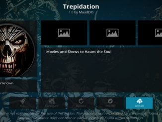 Trepidation Addon Guide - Kodi Reviews