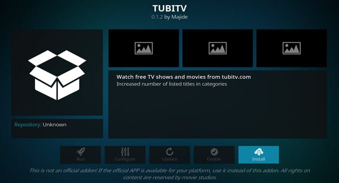 TubiTV Addon Guide - Kodi Reviews