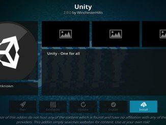 Unity Addon Guide - Kodi Reviews