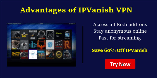 IPVanish for Kodi