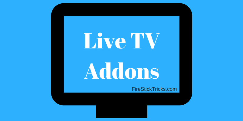 best kodi live tv addons