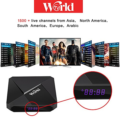 Andobox 2018 Most recent Worldwide IPTV Receiver with
