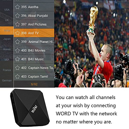 BOOMMER 2018 Newest IPTV with 1500+ International Dwell Channels