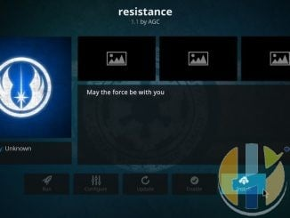 How to Install Resistance Live TV Addon on Kodi 17.6