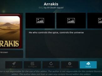 Arrakis Addon Guide - Kodi Reviews