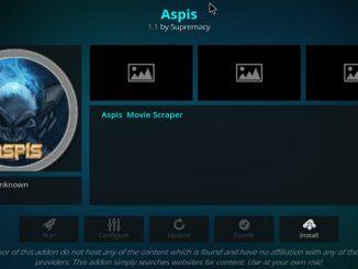 Aspis Addon Guide - Kodi Reviews