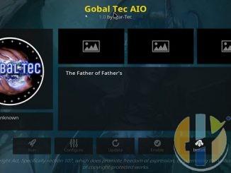 Global Tec Addon Guide - Kodi Reviews