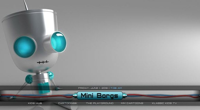Cyborgs Build 1