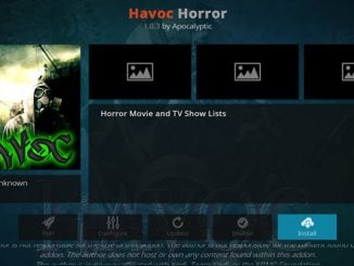 Havoc Horror Addon Guide - Kodi Reviews