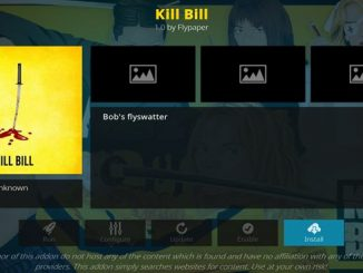Kill Bill Addon Guide - Kodi Reviews