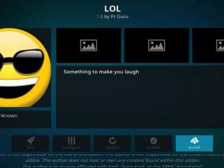 LOL Addon Guide - Kodi Reviews