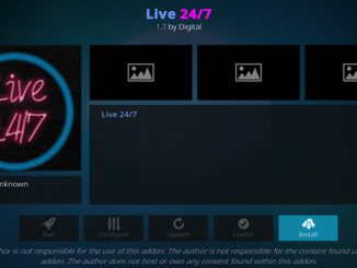 Live 24/7 Addon Guide - Kodi Reviews