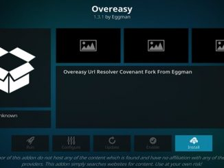 OverEasy Addon Guide - Kodi Reviews