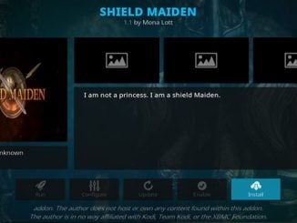 Shield Maiden Addon Guide - Kodi Reviews
