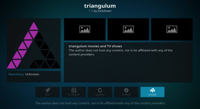Triangulum Addon Guide - Kodi Reviews