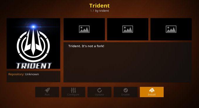Trident Addon Guide - Kodi Reviews