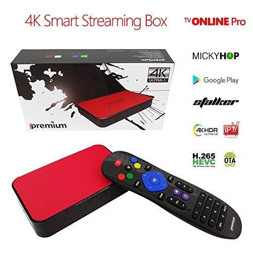 ipremium 4K IPTV Streaming Box Android Based mostly Procedure