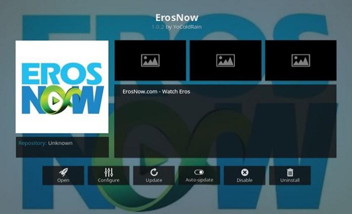 ErosNow Kodi Addon