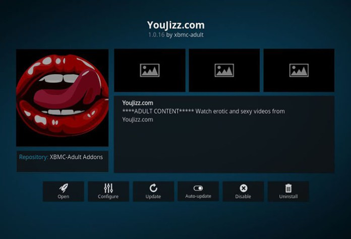 Adult Addons for Kodi -YouJizz
