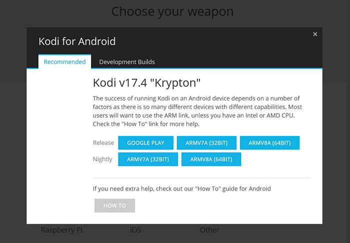 Install Kodi on Android - Phone 6