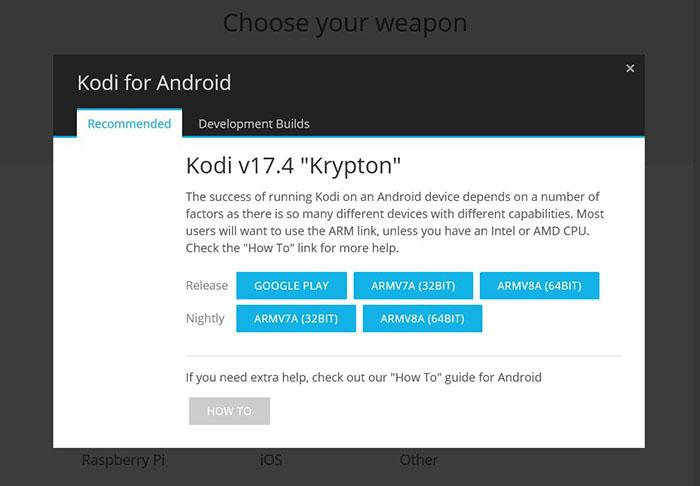 Install Kodi on Android - TV 5