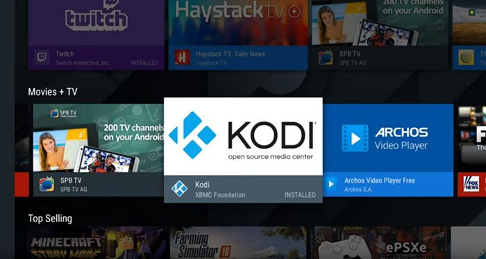 Install Kodi on Android - TV 4