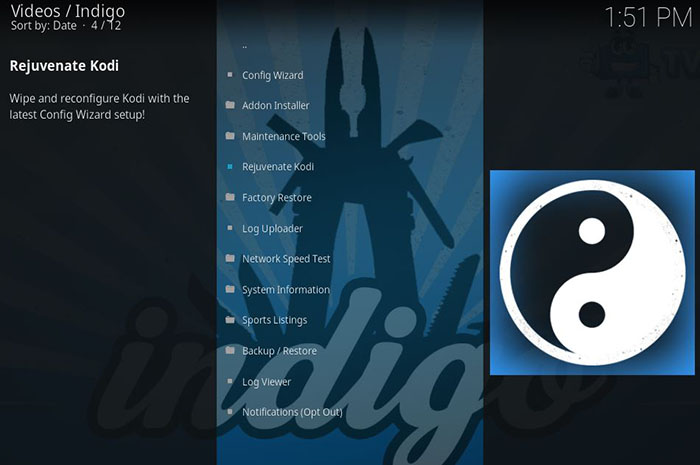 Kodi Troubleshooting - Indigo 1