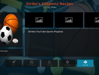 Strike's Allsportz Recaps Addon Guide