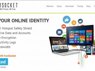 IronSocket vpn Homepage
