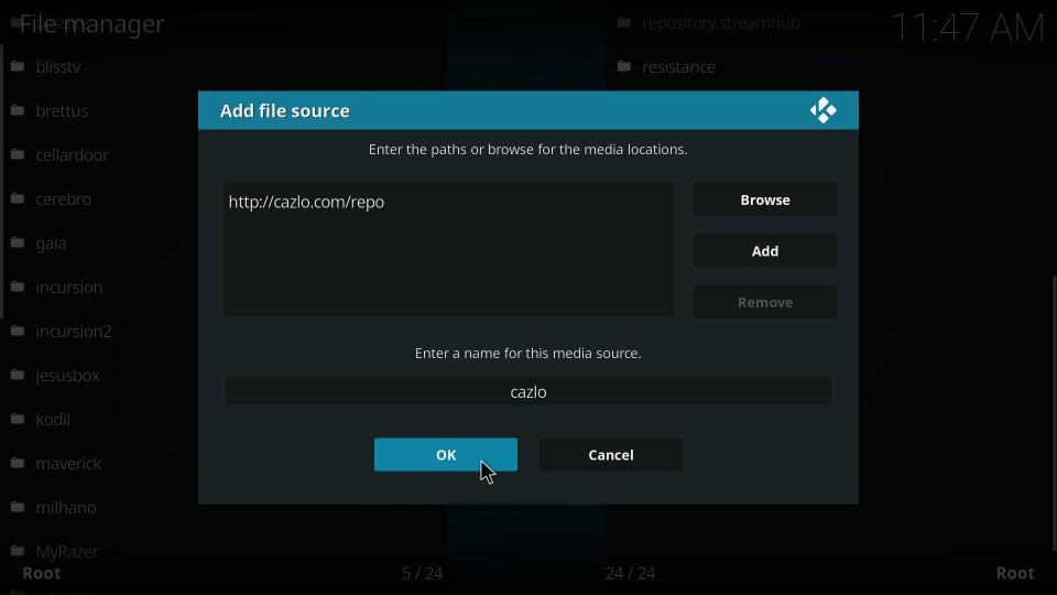 install cazlo repository