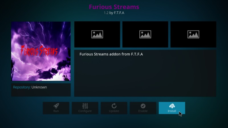 furious streams installation guide