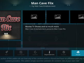 Man Cave Flix Addon Guide