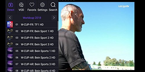 Subscription to account BEN Tv set 3000 Tv set channels IPTV, live
