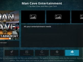 Man Cave Entertainment Addon Guide