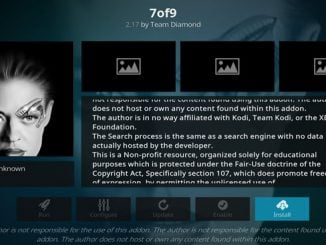 7of9 Addon Guide - Kodi Reviews