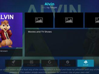 Alvin Addon Guide - Kodi Reviews