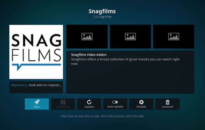 Best Kodi Bollywood Addons - Snagfilms 1