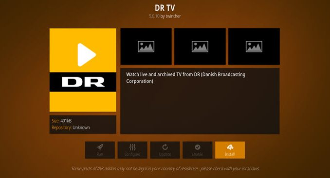 DR TV Addon Guide - Kodi Reviews
