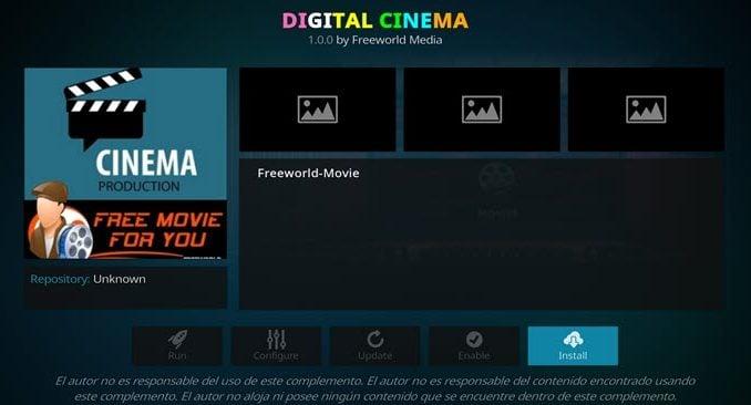 Digital Cinema Addon Guide - Kodi Reviews