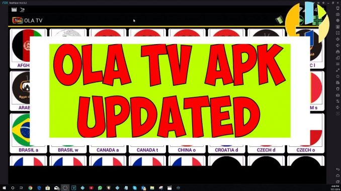 OLA TV Version 2 4 has been released - IPTV APK - Husham com APK