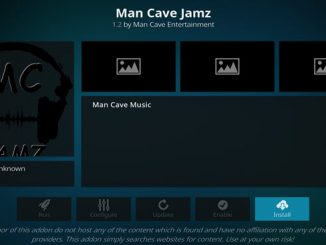 Man Cave Jamz Addon Guide
