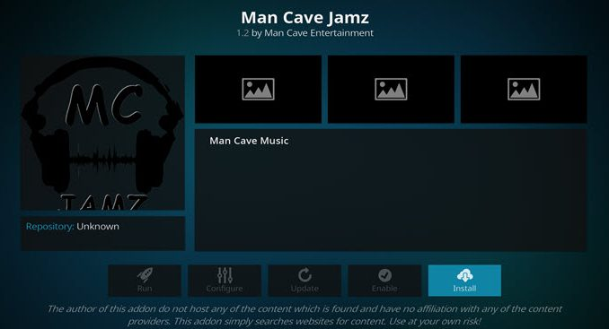 Man Cave Jamz Addon Guide