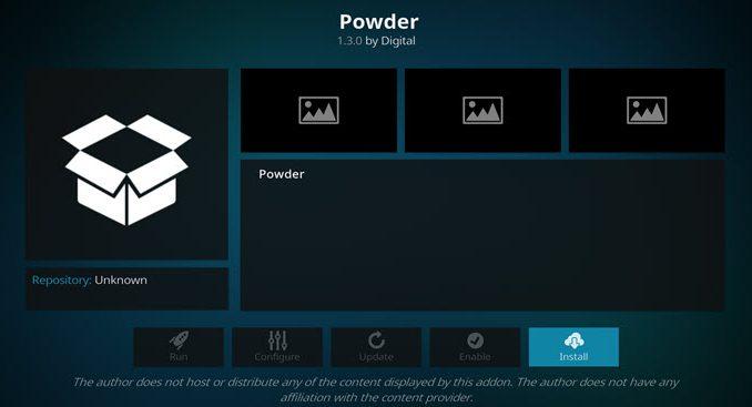 Powder Addon Guide - Kodi Reviews