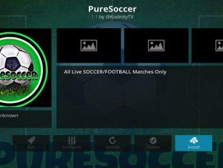 PureSoccer Addon Guide - Kodi Reviews