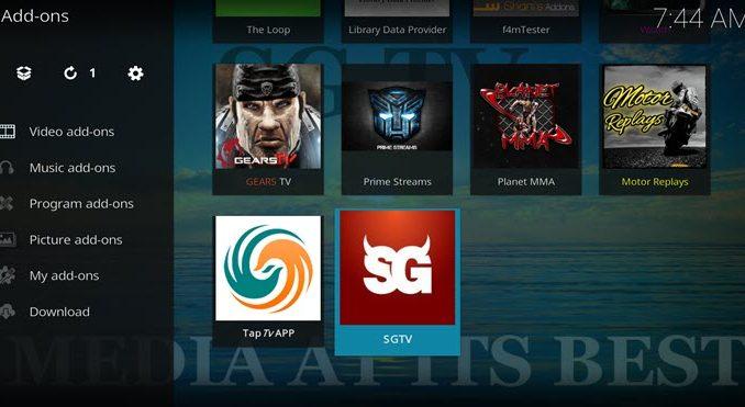 SGTV Addon Guide - Kodi Reviews