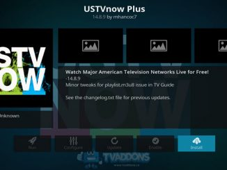 USTV Now Plus Addon Guide
